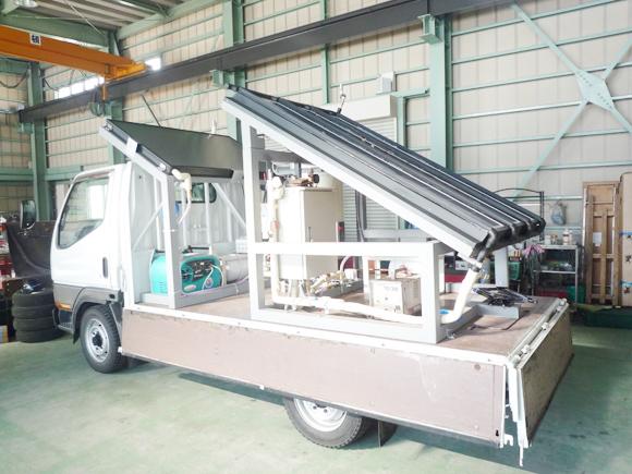 太陽光発電融雪システム